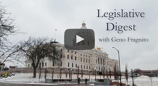 Legislative Digest with Geno Fragnito