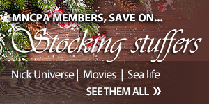 MNCPA members, save on stocking stuffers - discount tickets to Minnesota's top attractions