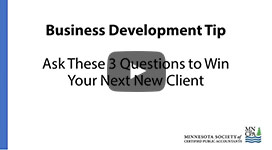 Ask These 3 Questions to Win Your Next New Client