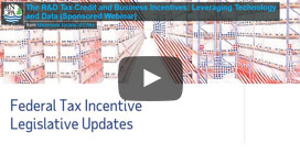 The R&D Tax Credit and Business Incentives: Leveraging Technology and Data