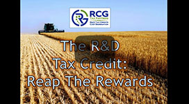 The R&D Tax Credit: Reap the Rewards